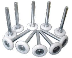 Garage door rollers repair